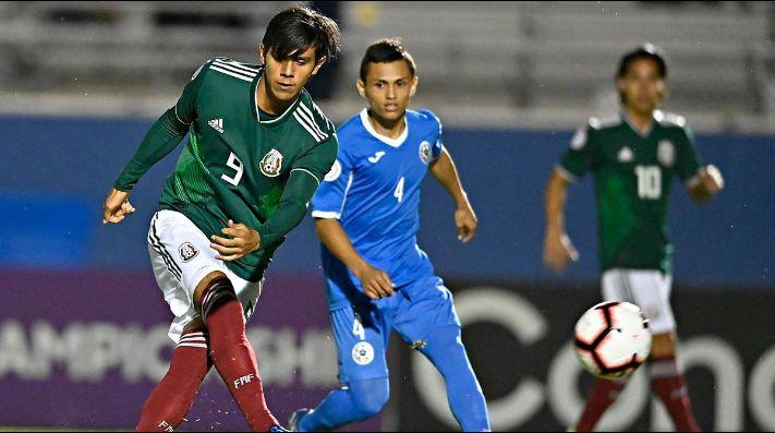 México golea sin piedad a Nicaragua en premundial Concacaf 2018