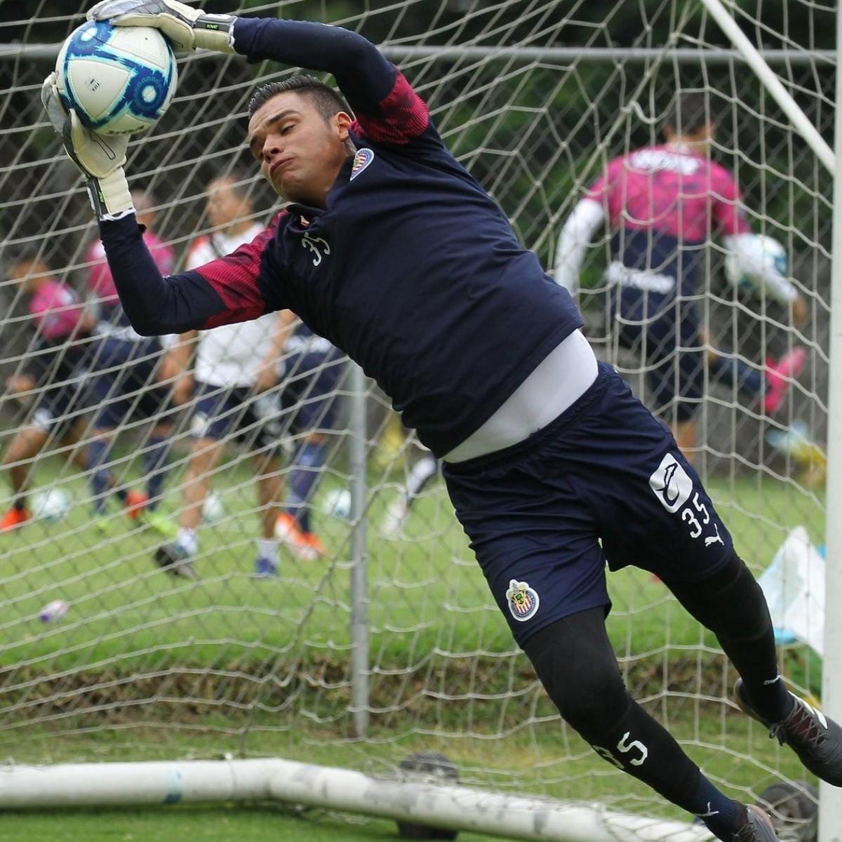 Los porteros que jugaron con Chivas pero no debutaron en Liga MX ...