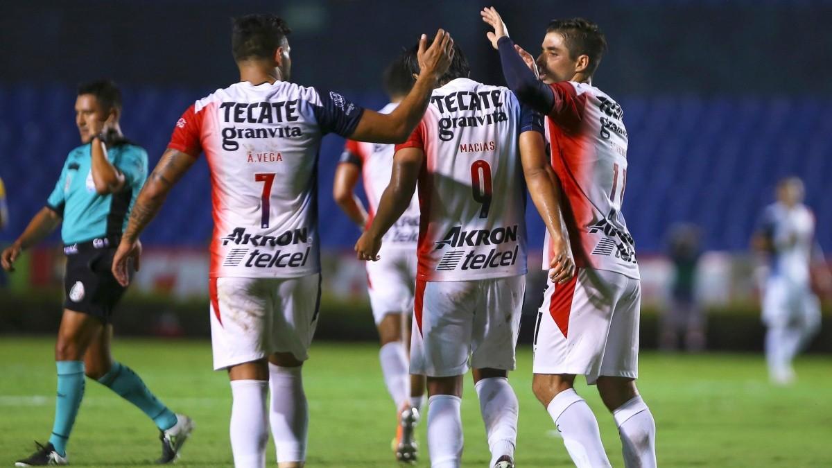FINAL Chivas derrotó 3-1 a Tigres UANL en partido de la Jornada 8 de la  Liga MX   Chivas Pasión