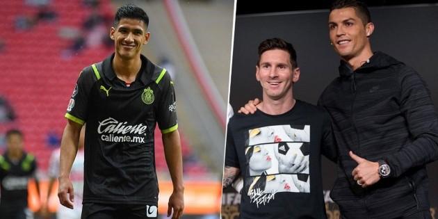 Uriel Antuna supera en velocidad a Cristiano Ronaldo, Neymar y Lionel Messi